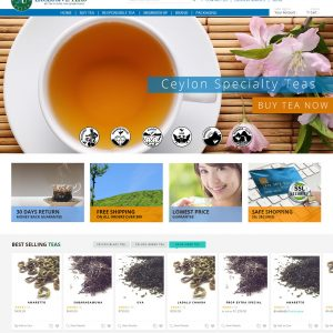 magento based website designed and developed by us in Sri Lanka