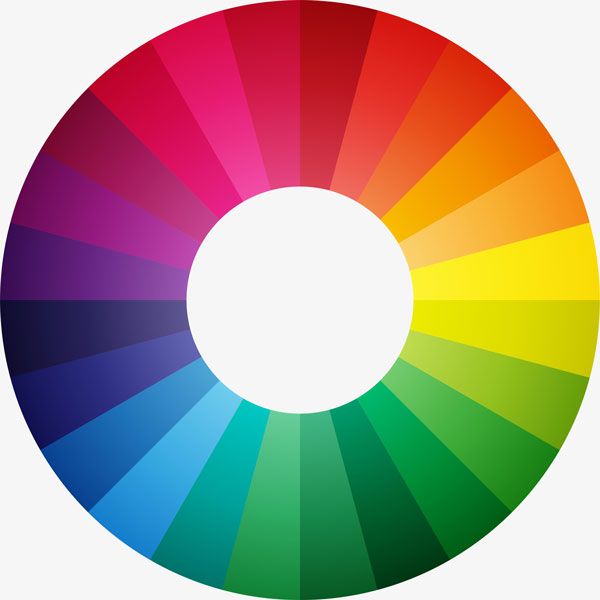 website color selection wheel pallete