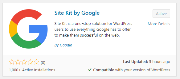 site kit by google wordpress plugin download